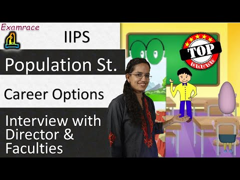 Embedded thumbnail for Population Science Career Options  Guidance from IIPS Director & Faculties (Reach & Teach)